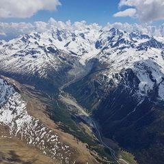 Verortung via Georeferenzierung der Kamera: Aufgenommen in der Nähe von Maloja, Schweiz in 4000 Meter