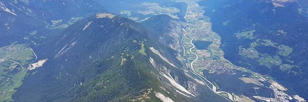 Verortung via Georeferenzierung der Kamera: Aufgenommen in der Nähe von Gemeinde Karrösten, Österreich in 3400 Meter