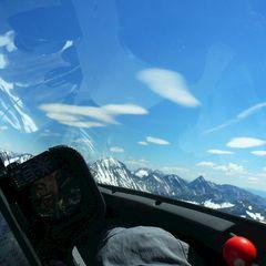 Flugwegposition um 09:40:44: Aufgenommen in der Nähe von St. Nikolai im Sölktal, 8961, Österreich in 2227 Meter