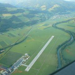 Flugwegposition um 03:01:09: Aufgenommen in der Nähe von Donnersbach, Österreich in 2016 Meter