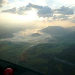 Flugwegposition um 02:48:02: Aufgenommen in der Nähe von Donnersbach, Österreich in 2296 Meter