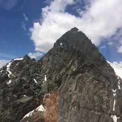 Verortung via Georeferenzierung der Kamera: Aufgenommen in der Nähe von Gemeinde Sölden, Österreich in 3400 Meter