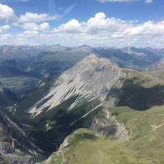 Verortung via Georeferenzierung der Kamera: Aufgenommen in der Nähe von Bezirk Inn, Schweiz in 3300 Meter