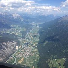 Verortung via Georeferenzierung der Kamera: Aufgenommen in der Nähe von Gemeinde Haiming, Österreich in 3200 Meter