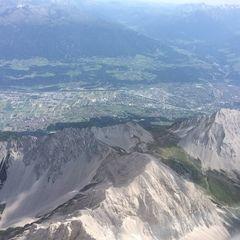 Verortung via Georeferenzierung der Kamera: Aufgenommen in der Nähe von Gemeinde Absam, Österreich in 3600 Meter