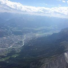 Verortung via Georeferenzierung der Kamera: Aufgenommen in der Nähe von Gemeinde Absam, Österreich in 3300 Meter
