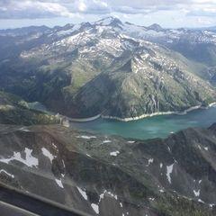Verortung via Georeferenzierung der Kamera: Aufgenommen in der Nähe von Gemeinde Hüttschlag, 5612, Österreich in 3100 Meter