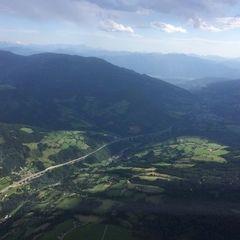 Verortung via Georeferenzierung der Kamera: Aufgenommen in der Nähe von Gemeinde Krems in Kärnten, Österreich in 2500 Meter