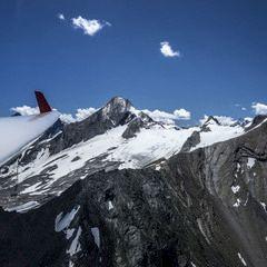 Flugwegposition um 09:16:52: Aufgenommen in der Nähe von Gemeinde Flachau, Österreich in 2324 Meter