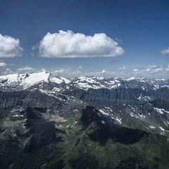 Flugwegposition um 09:23:01: Aufgenommen in der Nähe von Gemeinde Kleinarl, Österreich in 2323 Meter