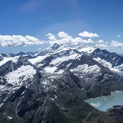 Flugwegposition um 09:23:07: Aufgenommen in der Nähe von Gemeinde Kleinarl, Österreich in 2335 Meter