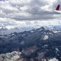 Flugwegposition um 12:29:52: Aufgenommen in der Nähe von Gemeinde Nauders, Österreich in 3334 Meter