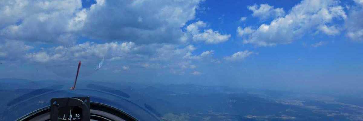 Flugwegposition um 09:57:31: Aufgenommen in der Nähe von Gemeinde Prigglitz, Österreich in 1416 Meter
