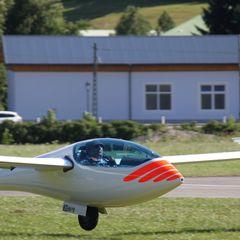 Flugwegposition um 14:38:14: Aufgenommen in der Nähe von Gössenberg, Österreich in 2191 Meter