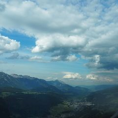 Flugwegposition um 15:42:33: Aufgenommen in der Nähe von Rohrmoos-Untertal, Österreich in 1427 Meter