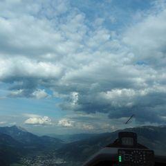 Flugwegposition um 15:42:37: Aufgenommen in der Nähe von Rohrmoos-Untertal, 8971 Schladming, Österreich in 1426 Meter