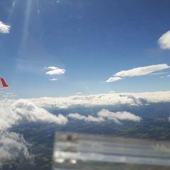 Verortung via Georeferenzierung der Kamera: Aufgenommen in der Nähe von Marktgemeinde Pinggau, Österreich in 2500 Meter