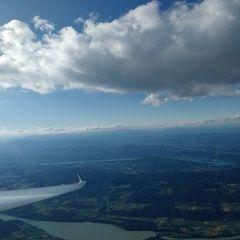 Flugwegposition um 16:41:21: Aufgenommen in der Nähe von Gemeinde Ferlach, Österreich in 2412 Meter