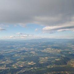 Flugwegposition um 16:52:02: Aufgenommen in der Nähe von Gemeinde Gallizien, Österreich in 2154 Meter
