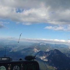 Flugwegposition um 16:42:08: Aufgenommen in der Nähe von Gemeinde Ferlach, Österreich in 2482 Meter