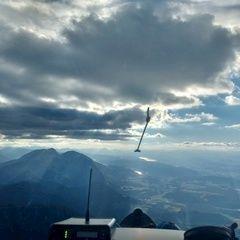 Flugwegposition um 17:02:00: Aufgenommen in der Nähe von Gemeinde Globasnitz, Österreich in 2197 Meter