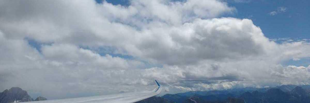 Flugwegposition um 12:34:49: Aufgenommen in der Nähe von Gemeinde Lesachtal, Österreich in 2645 Meter