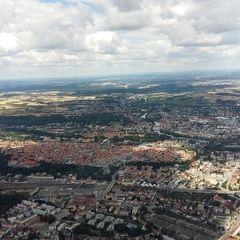 Flugwegposition um 10:33:43: Aufgenommen in der Nähe von Regensburg, Deutschland in 941 Meter