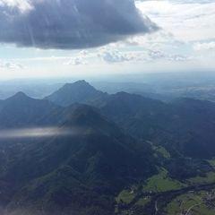 Flugwegposition um 15:30:35: Aufgenommen in der Nähe von Gemeinde Grünau im Almtal, 4645, Österreich in 2048 Meter