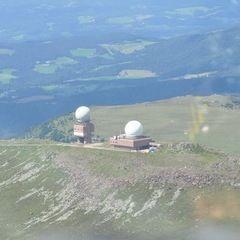 Flugwegposition um 13:38:04: Aufgenommen in der Nähe von Gemeinde Frantschach-Sankt Gertraud, Österreich in 2670 Meter