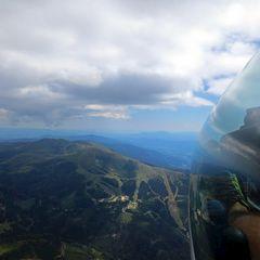Flugwegposition um 13:06:41: Aufgenommen in der Nähe von Gemeinde Wolfsberg, Österreich in 2484 Meter