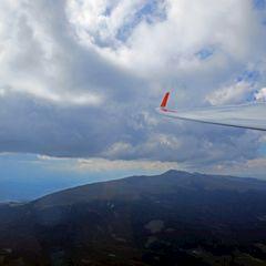 Flugwegposition um 13:49:34: Aufgenommen in der Nähe von Gemeinde Hüttenberg, Österreich in 2233 Meter