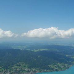 Flugwegposition um 13:08:58: Aufgenommen in der Nähe von Gemeinde St. Gilgen, Österreich in 1788 Meter