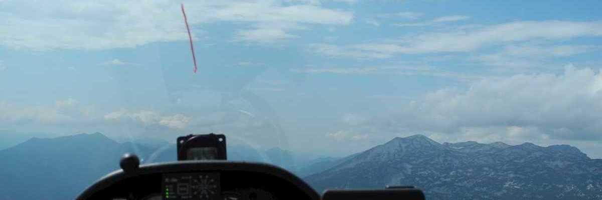 Flugwegposition um 12:30:47: Aufgenommen in der Nähe von Gemeinde Ebensee, 4802, Österreich in 1830 Meter