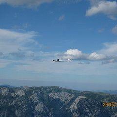 Flugwegposition um 13:52:31: Aufgenommen in der Nähe von Gemeinde Kalwang, Österreich in 2581 Meter