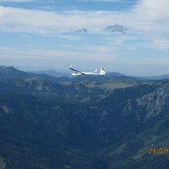 Flugwegposition um 13:52:52: Aufgenommen in der Nähe von Gemeinde Kalwang, Österreich in 2598 Meter