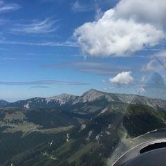 Flugwegposition um 11:32:08: Aufgenommen in der Nähe von Gemeinde Turnau, Österreich in 1647 Meter