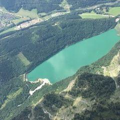 Flugwegposition um 10:16:46: Aufgenommen in der Nähe von Eisenerz, Österreich in 2135 Meter