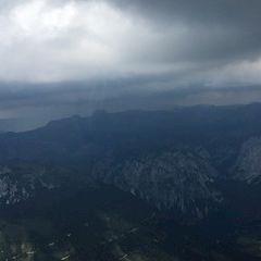 Flugwegposition um 12:24:12: Aufgenommen in der Nähe von Tragöß-Sankt Katharein, Österreich in 2221 Meter