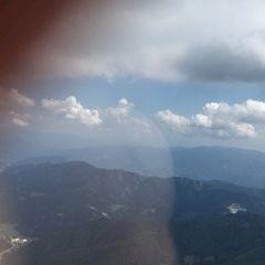 Flugwegposition um 12:24:35: Aufgenommen in der Nähe von Hafning bei Trofaiach, Österreich in 2242 Meter