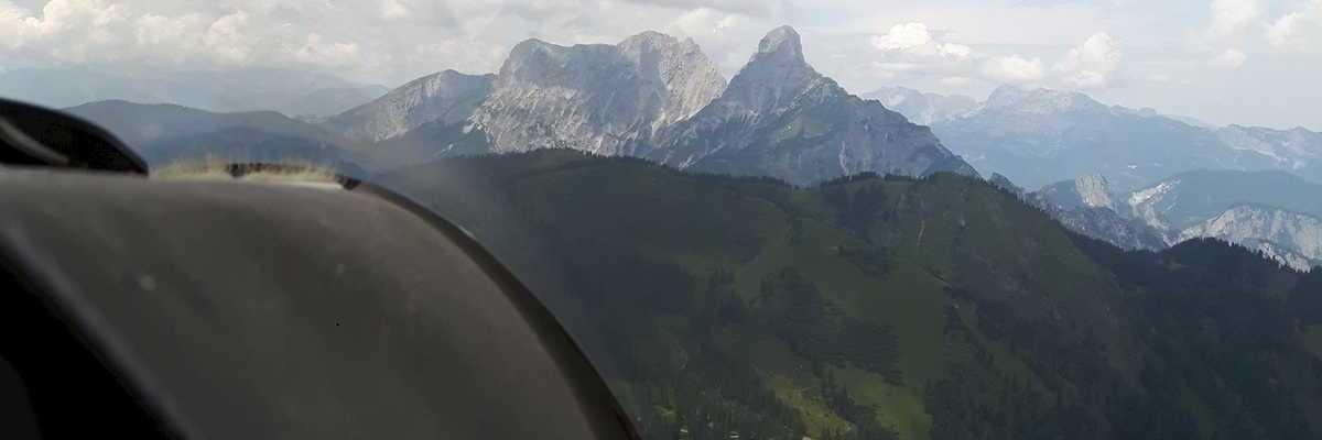 Verortung via Georeferenzierung der Kamera: Aufgenommen in der Nähe von Treglwang, Österreich in 1900 Meter