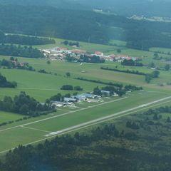 Flugwegposition um 14:49:51: Aufgenommen in der Nähe von Bad Tölz-Wolfratshausen, Deutschland in 752 Meter