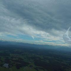 Flugwegposition um 14:42:47: Aufgenommen in der Nähe von Weilheim-Schongau, Deutschland in 1149 Meter