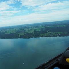 Flugwegposition um 14:45:01: Aufgenommen in der Nähe von Bad Tölz-Wolfratshausen, Deutschland in 1021 Meter