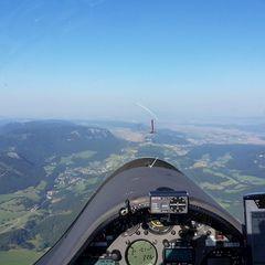 Verortung via Georeferenzierung der Kamera: Aufgenommen in der Nähe von Gemeinde Puchberg am Schneeberg, Österreich in 1800 Meter