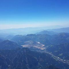 Verortung via Georeferenzierung der Kamera: Aufgenommen in der Nähe von Landl, Österreich in 4200 Meter