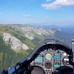 Verortung via Georeferenzierung der Kamera: Aufgenommen in der Nähe von Gußwerk, Österreich in 2000 Meter