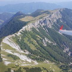 Verortung via Georeferenzierung der Kamera: Aufgenommen in der Nähe von Aflenz Kurort, 8623, Österreich in 2100 Meter