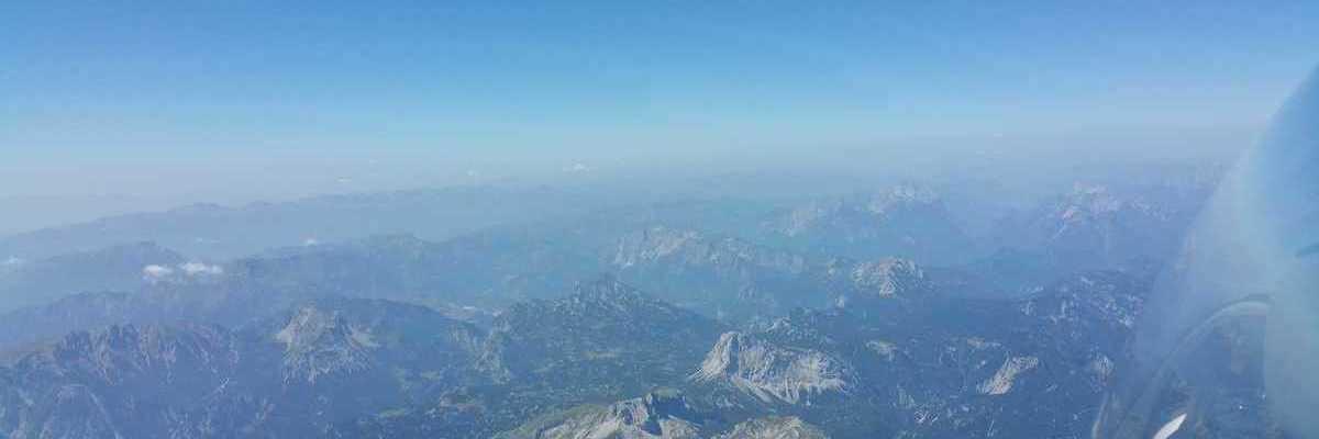 Flugwegposition um 09:58:07: Aufgenommen in der Nähe von Gußwerk, Österreich in 3888 Meter