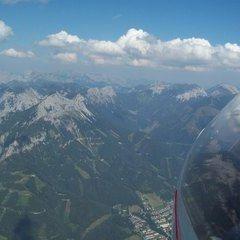 Flugwegposition um 13:33:09: Aufgenommen in der Nähe von Eisenerz, Österreich in 2125 Meter