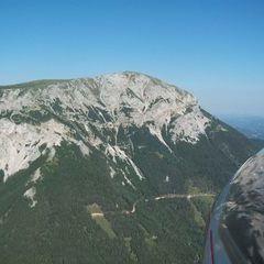 Flugwegposition um 14:07:31: Aufgenommen in der Nähe von Altenberg an der Rax, Österreich in 1671 Meter